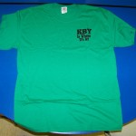 Camp Needs Short sleeve green (KBY is where it's at)